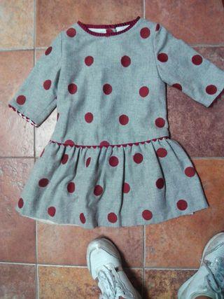 vestido sonata 5años
