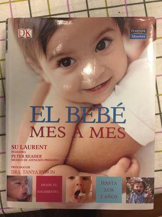 Libro El bebé mes a mes