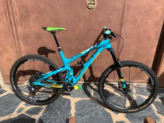 Bicicleta yeti sb5.5 año 2018