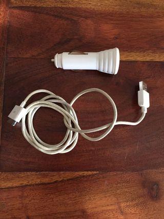 Cable Iphone 4 y cargador