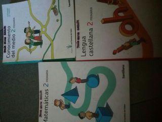 Libros 2 de primaria Santillana