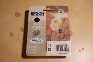 Cartucho impresora Epson T0611 negro