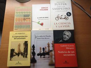 LIBROS DE LECTURA NUEVOS