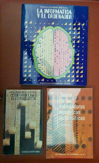 Libros informática y ordenadores