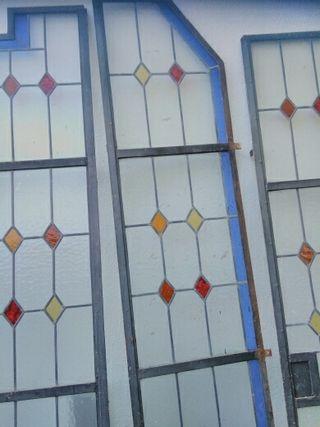 Puertas vidrieras artesanales emplomadas