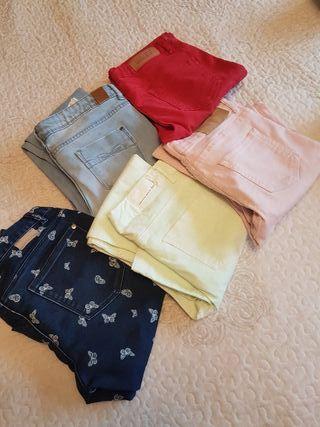 pantalones niña talla 9-10