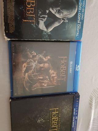 trilogía El Hobbit blu-ray