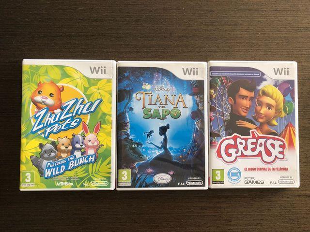 3 Juegos Infantiles Para Wii De Segunda Mano Por 20 En Barcelona
