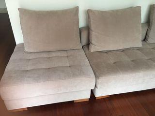 Sofá de 2 modulos
