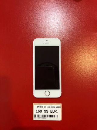 Iphone SE Rose 16gb libre