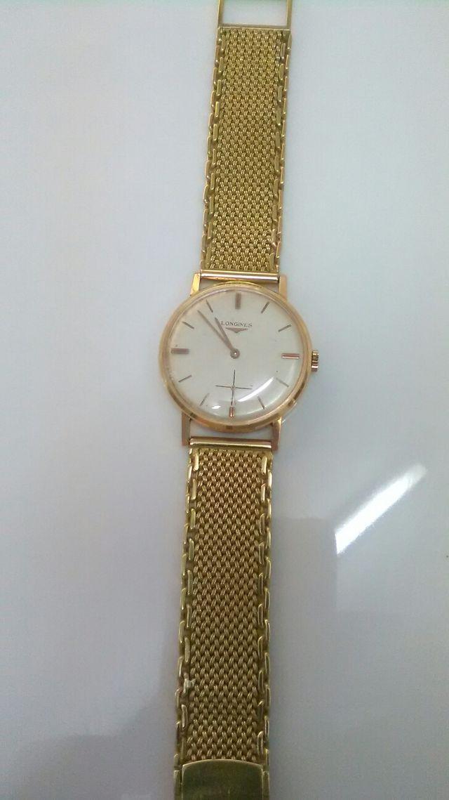 1b5478be764e Reloj LONGINES ORO de segunda mano por 3.900 € en Valencia en WALLAPOP