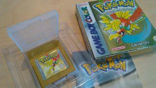 Juego Pokémon Edición Oro para Game Boy Color
