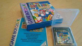 Juego Super Mario Bros. Deluxe para Game Boy Color