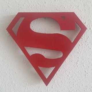 Lámpara led de Superman