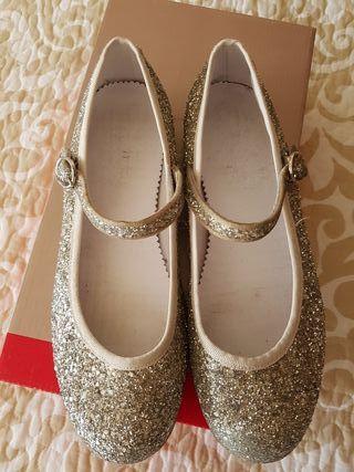 Zapatos piel niña n° 33 BASS10