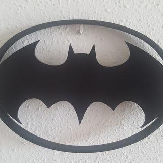 Lámpara led de Batman