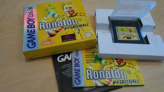 Juego Ronaldo V-Football para Game Boy Color