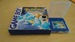 Juego Pokémon Azul para Nintendo Game Boy