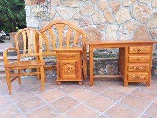 muebles madera cama 90
