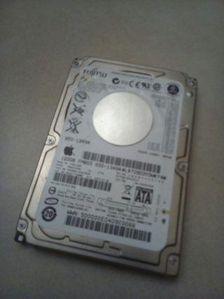 Disco duro sata 120gb de Apple