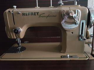 vendo máquina de coser y bordar refrey transforme
