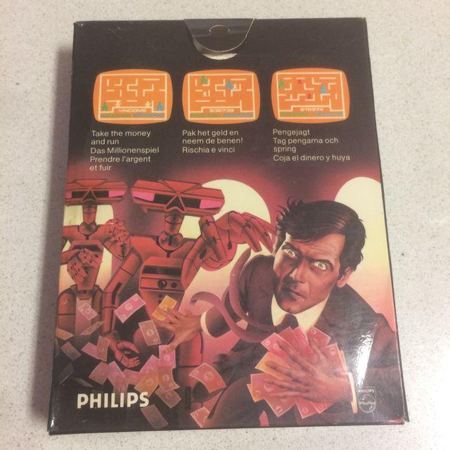Caja Philips Videopac N-12