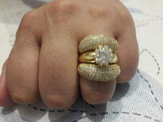 Anillos de oro de matrimonio