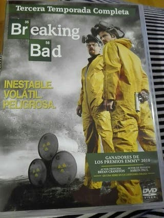 DVD Breaking Bad 3 Temporada Completa