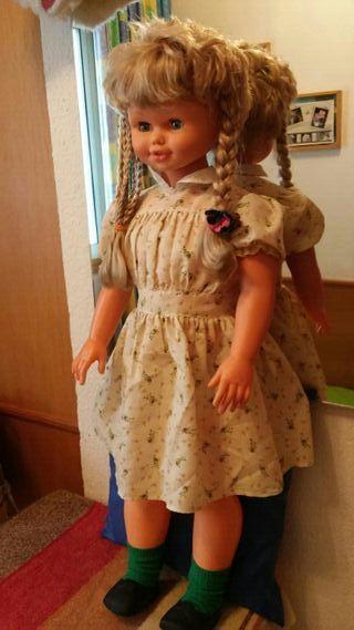 muñeca Rosaura 1980 funciona bien el pelo