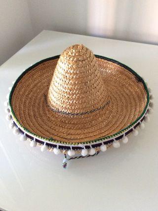 Sombrero mexicana de segunda mano en Madrid en WALLAPOP 1e02d7131af