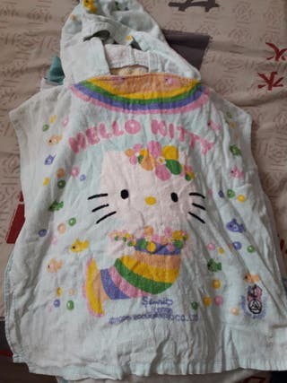 Toalla Albornoz hello kitty