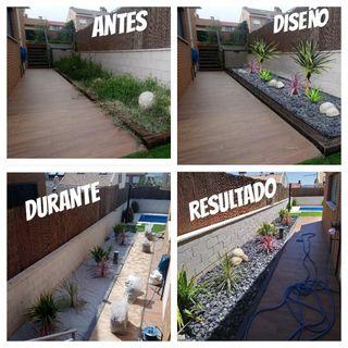 Reformas y montajes de jardines
