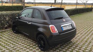 Fiat 500 BlackMatt