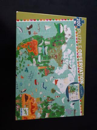 Puzzle Observation Djeco 200pzs