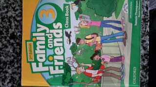 family and friends 3 class book. 9780194811361
