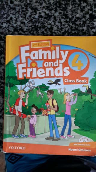 family and friends 4 class book. 9780194811477