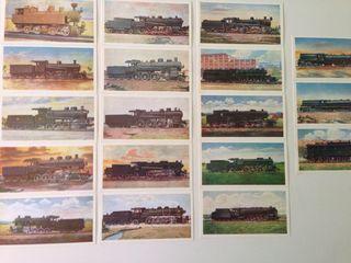 Postales de locomotoras (vintage)