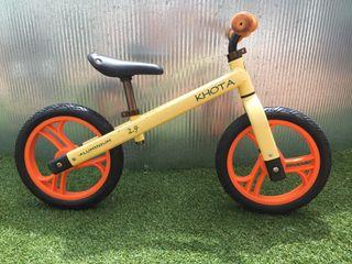 Bicicleta sin pedales aluminio
