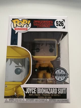Funko pop Joyce biohazard suit