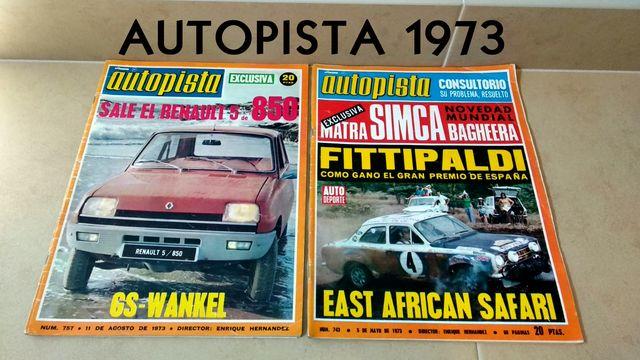 REVISTAS AUTOPISTA 1973