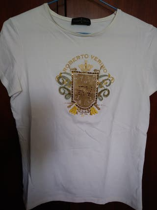 Camiseta Roberto Verino bordada