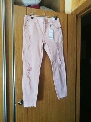 Pantalones vaqueros chica