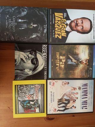 Películas y Música (6 € cada uno)
