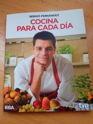 """libro """"Cocina para cada dia"""" de Sergio Fernández"""