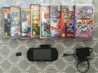 PSP con cámara psp-450