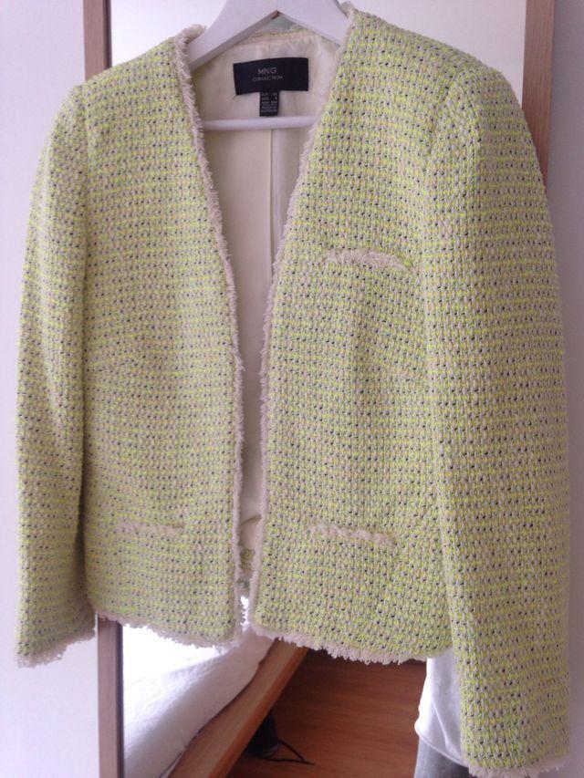 aliexpress múltiples colores comprar Chaqueta tweed mujer Mango de segunda mano por 15 € en ...