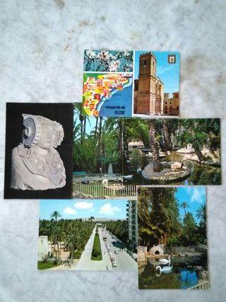 postales Elche (Alicante)...años 60