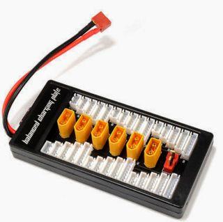 cargador de baterías en paralelo