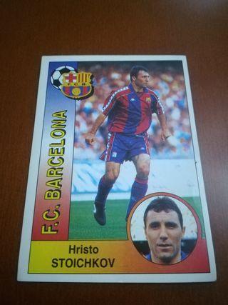 Panini Liga 94-95 cromo #68 Stoichkov - Barcelona