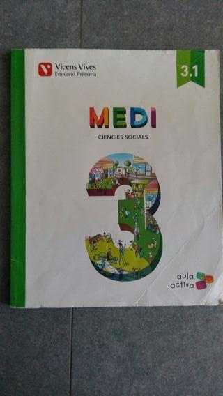 Libro de texto 3° primaria MEDI Col.legi Closa